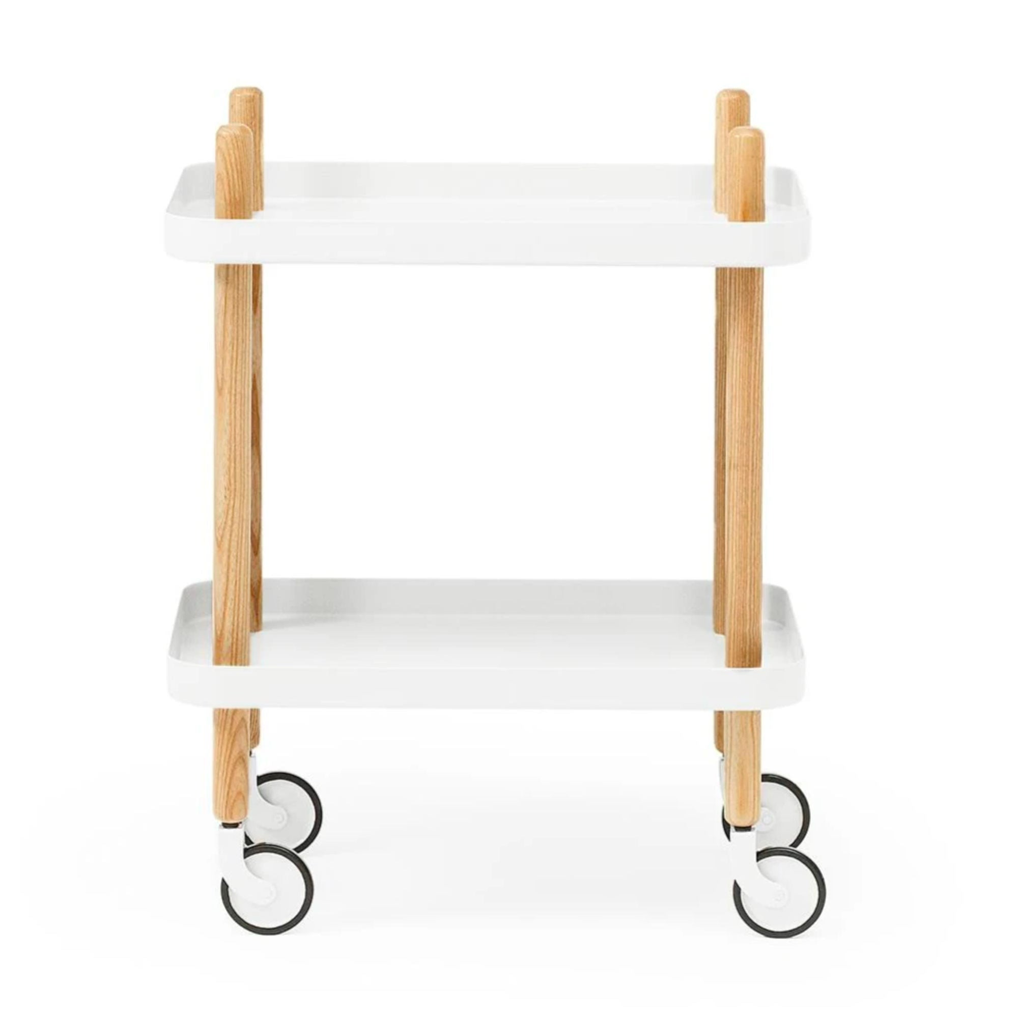 Normann Copenhagen Block Table , White-Oak