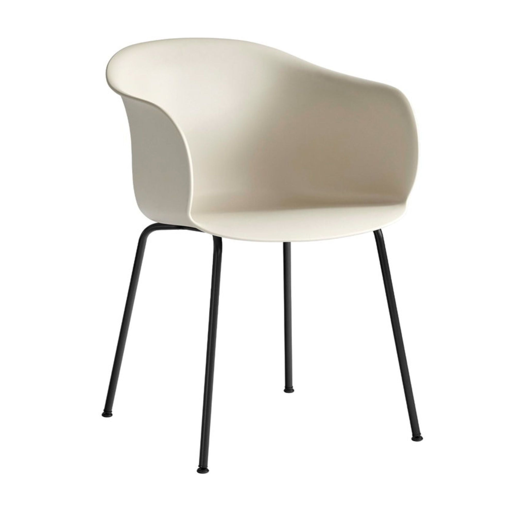 &Tradition JH28 Elefy Chair , Soft Beige - Black