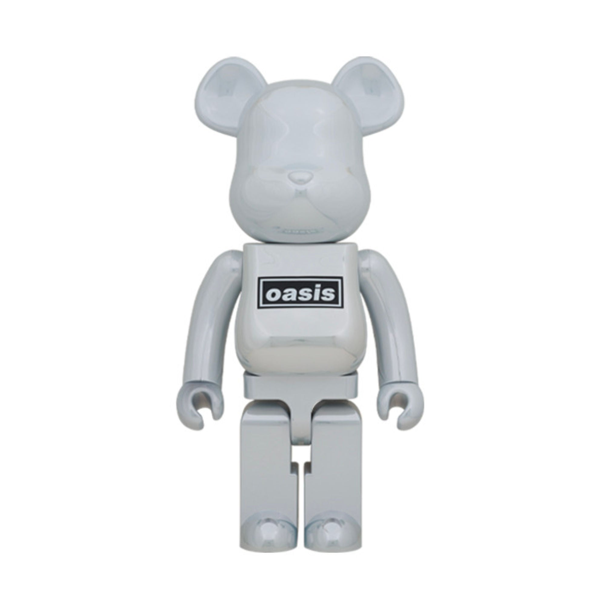 BE@RBRICK Oasis White Chrome 1000% (To be shipped in late Jan 2021)