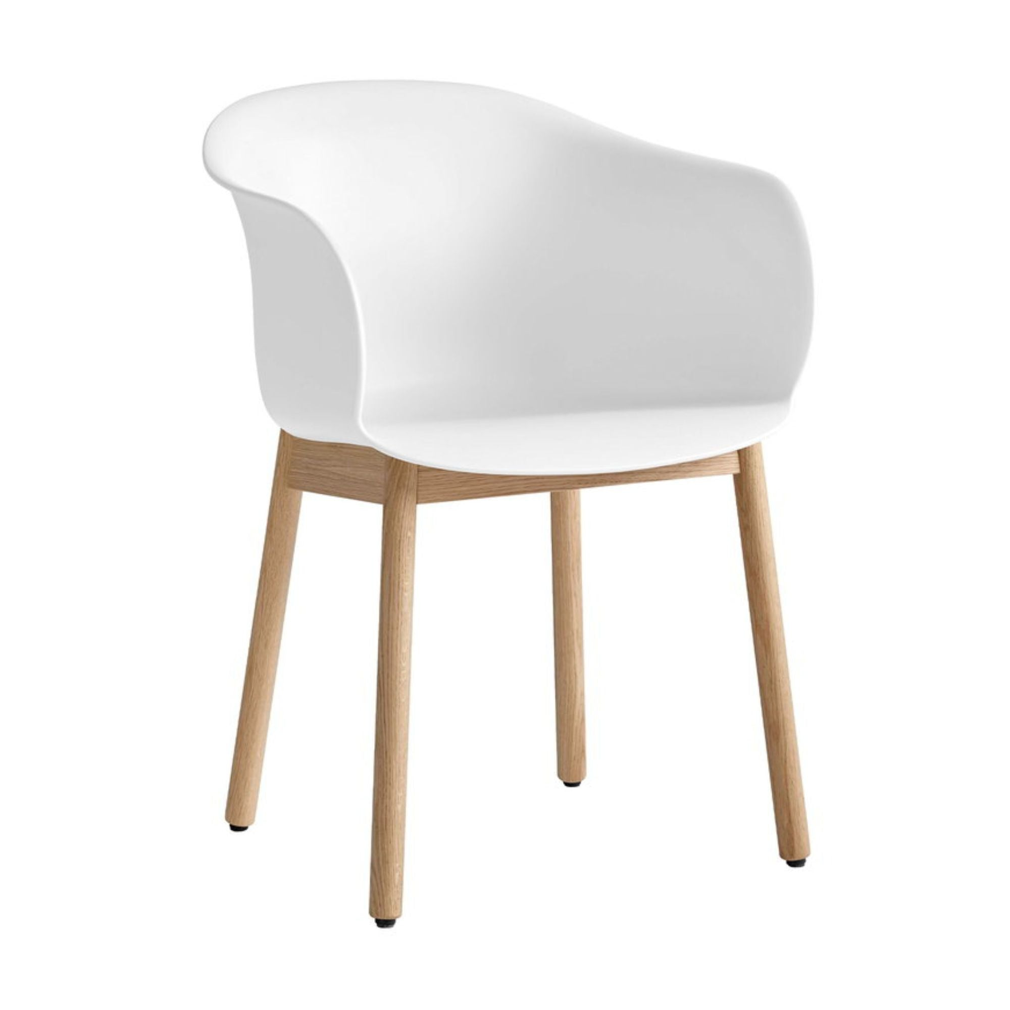 &Tradition JH30 Elefy Chair , White/Oak