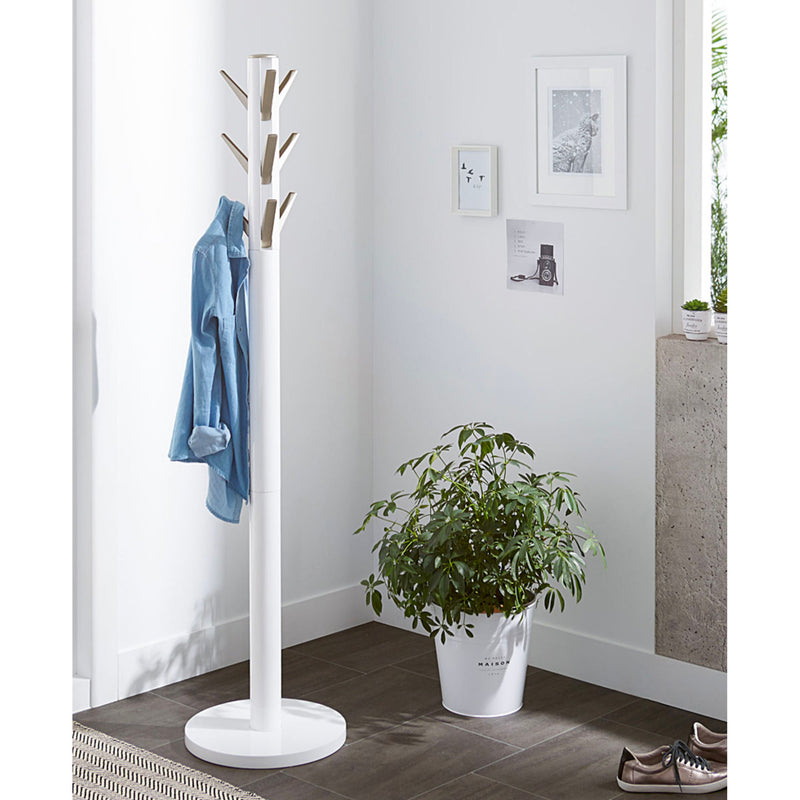 Umbra Flapper coat rack, white