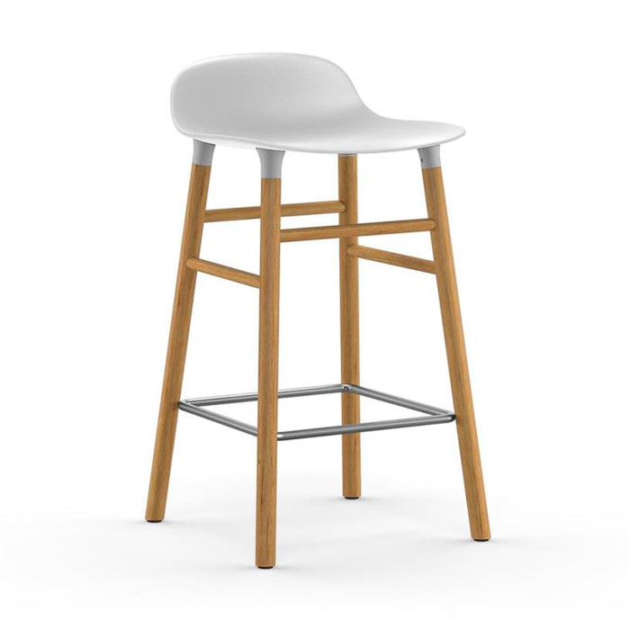 Normann Copenhagen Form Bar Stool 65cm Oak Legs