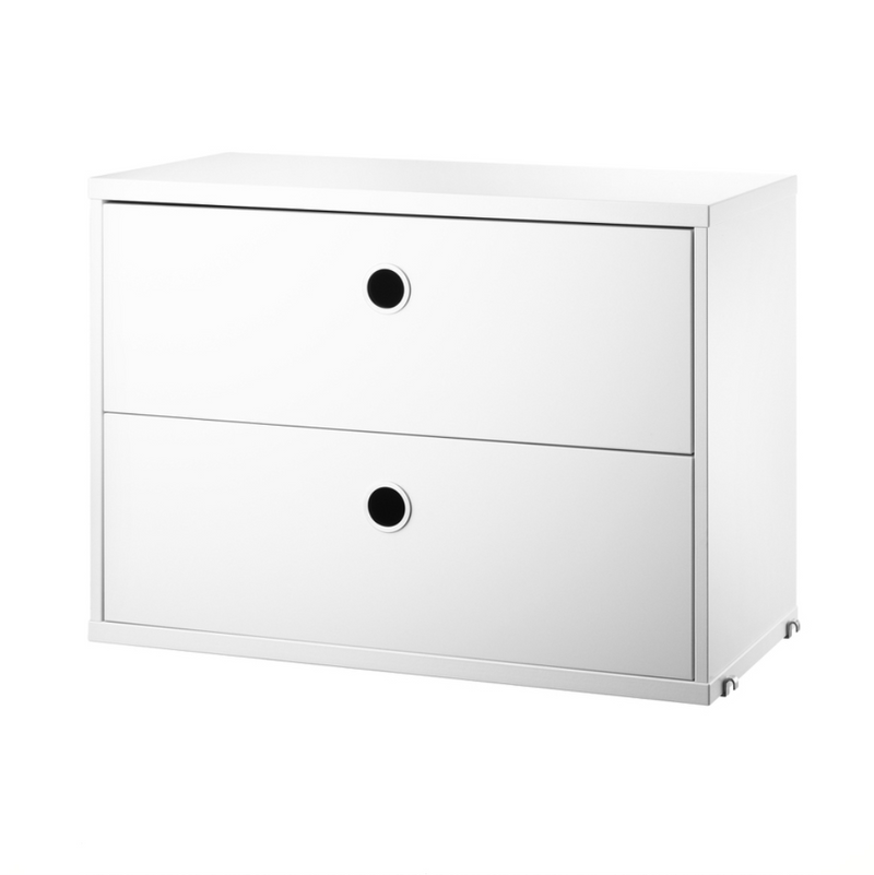 String® 2-Drawers Chest 58x30cm