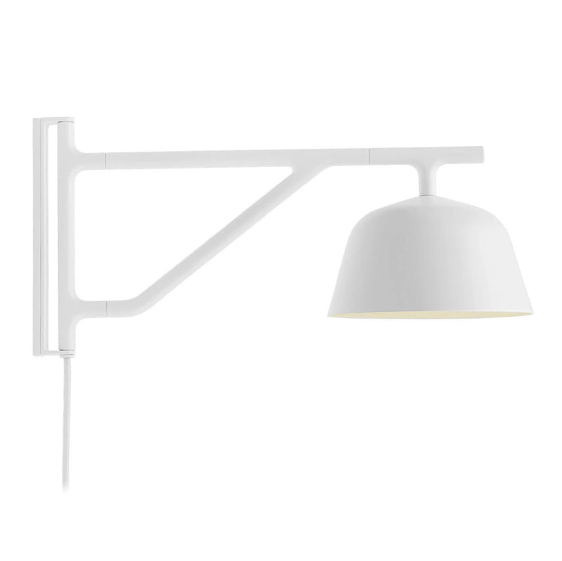 Muuto Ambit wall lamp, white