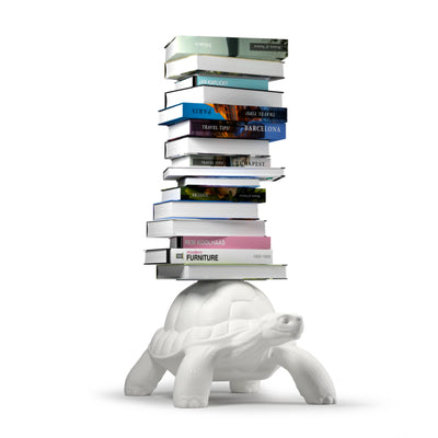 Qeeboo Turtle Carry Bookcase , White