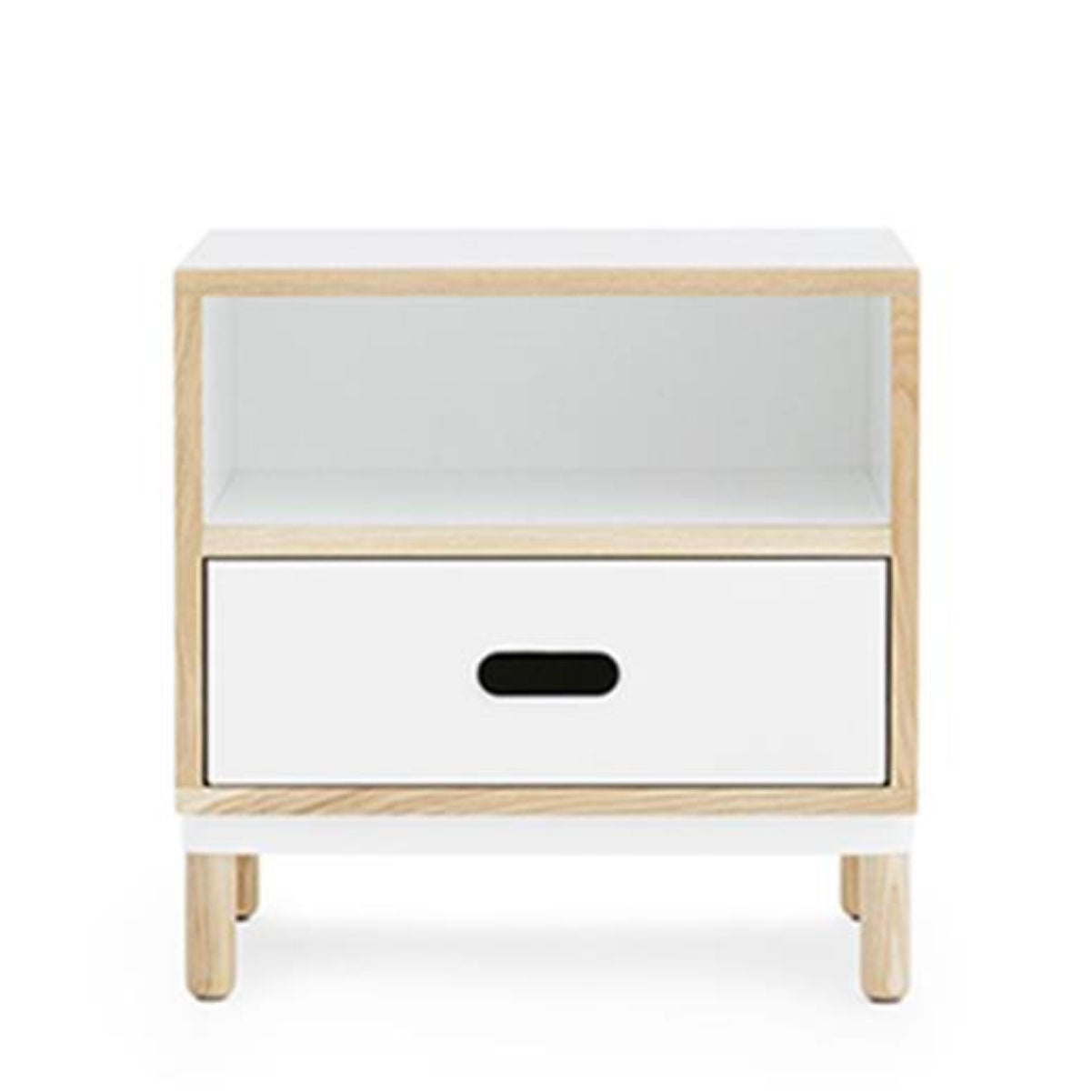 Normann Copenhagen Kabino bedside table, white