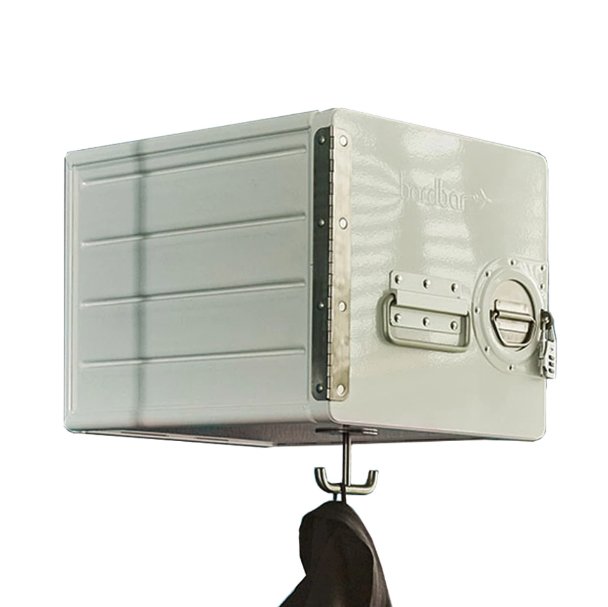 Bordbar Bow wall storage box with hooks