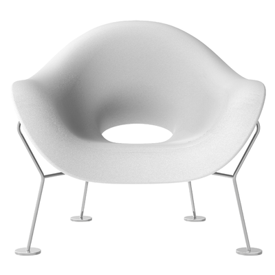 Qeeboo Pupa Armchair Indoor Chrome Base
