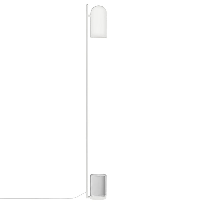 AYTM Luceo floor lamp, white - clear