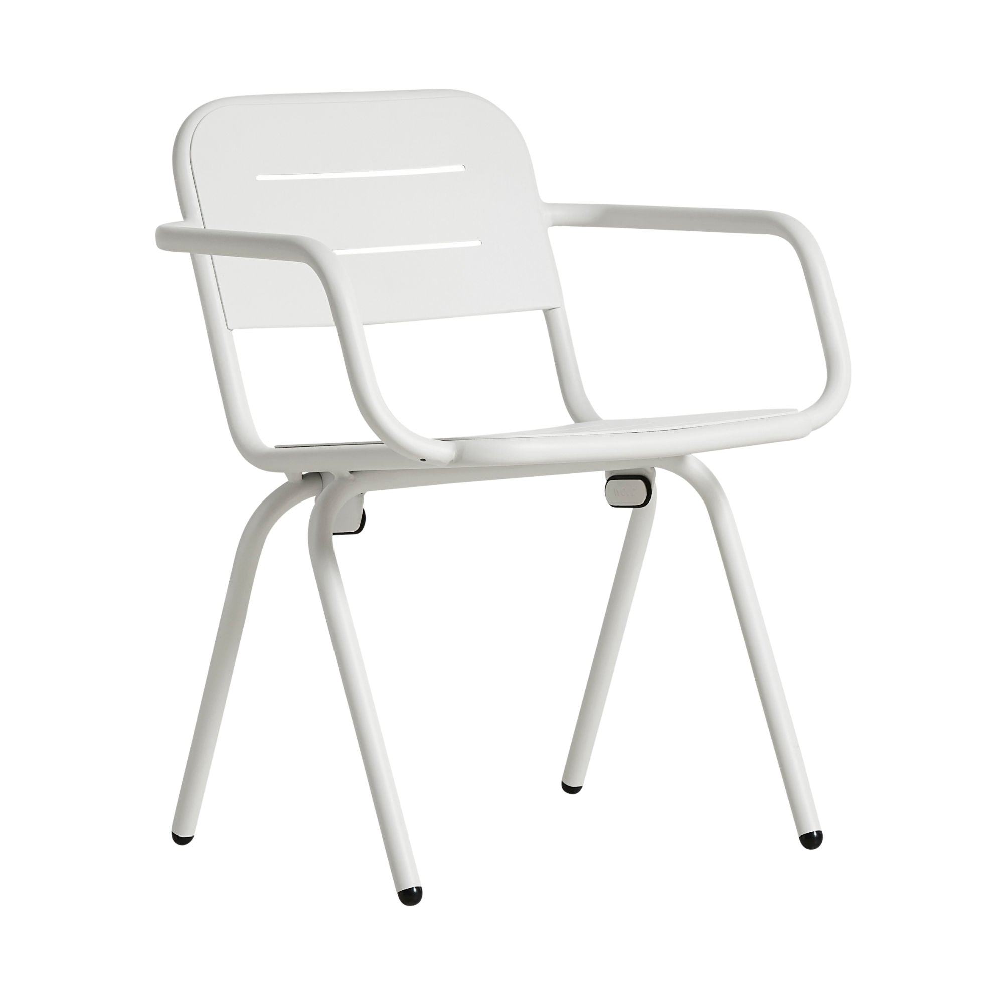 Woud Ray Dining Chair , White