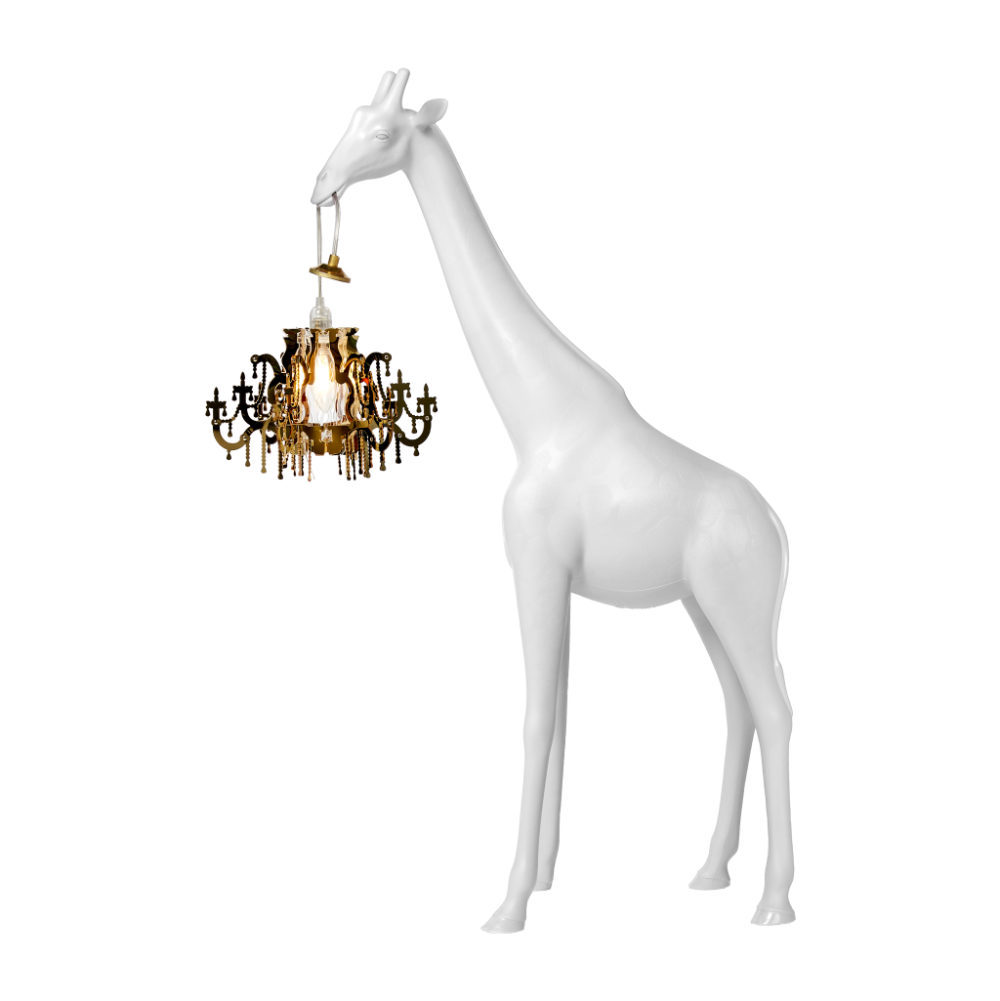 Qeeboo Giraffe in Love Lamp XS