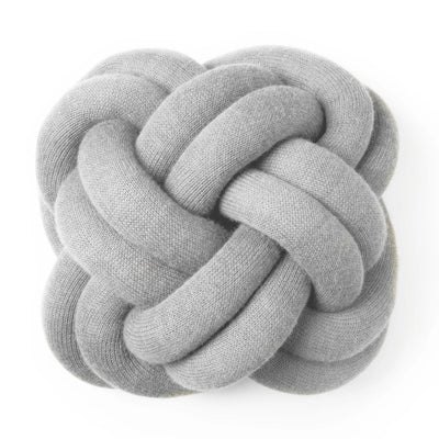Design House Stockholm Knot cushion, white grey
