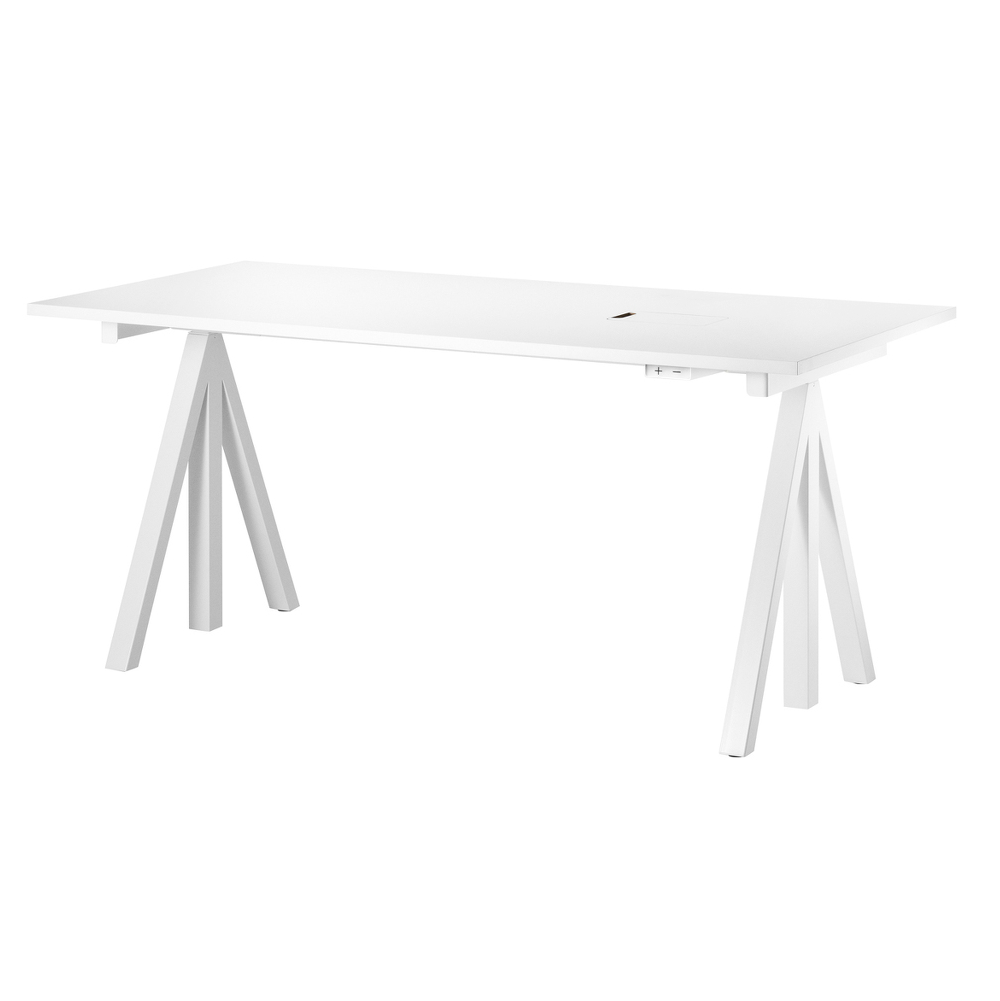 String® Works Electrical Height-adjustable Work Desk W160xD78cm