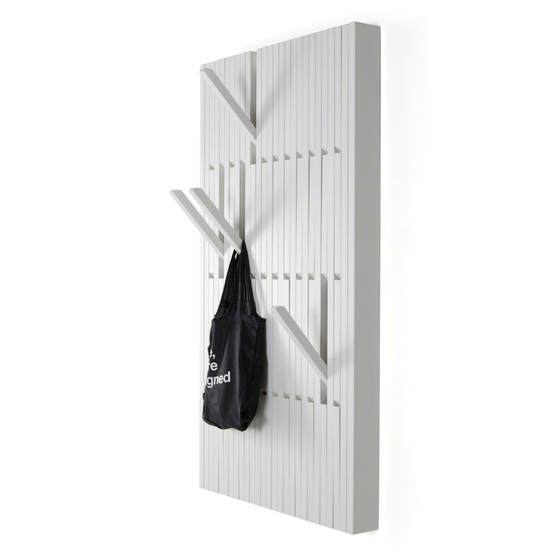 Peruse Piano hanger panel, Large - Beech lacquered white