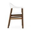 Normann Copenhagen Herit armchair, smoked oak, leather