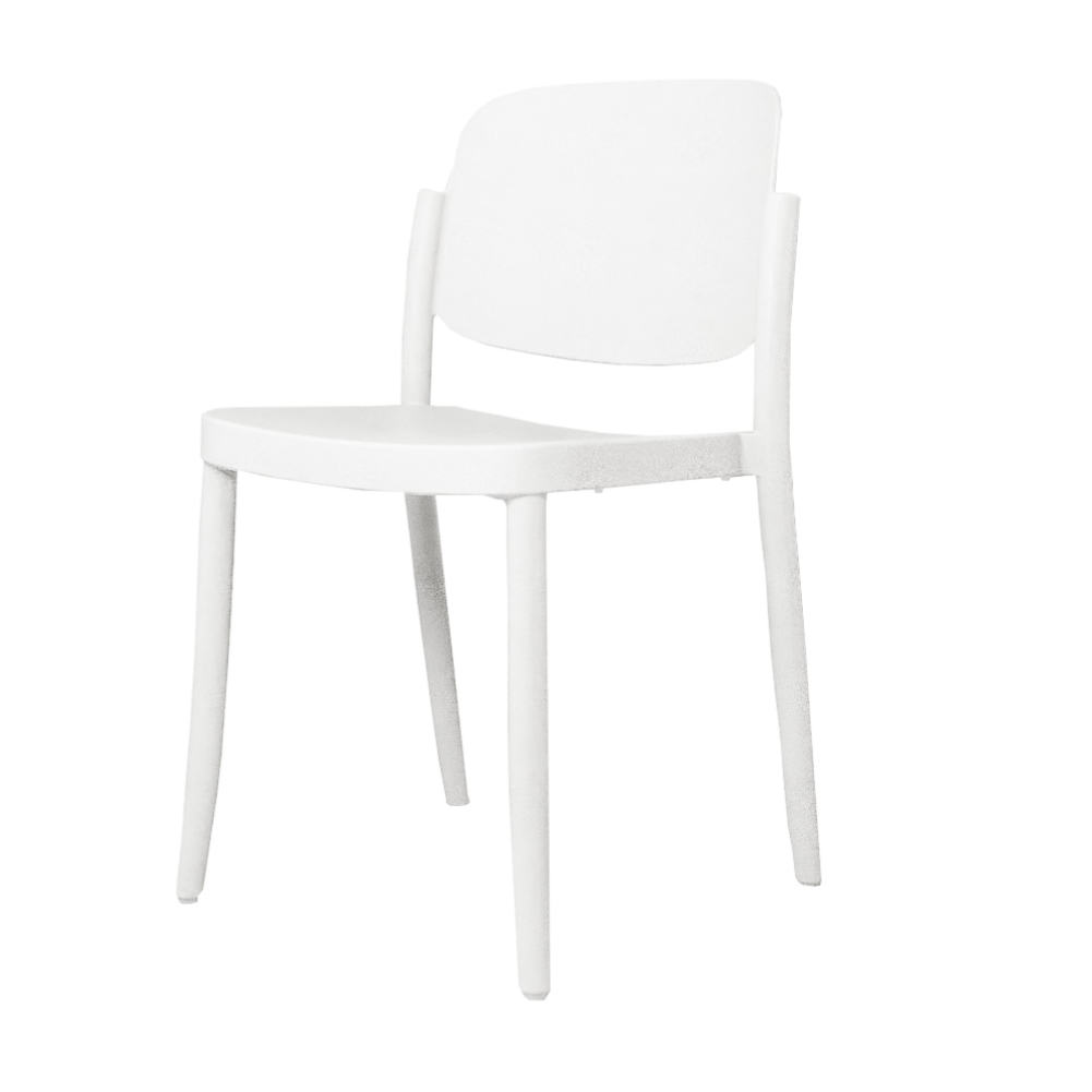 Colos Piazza chair, white