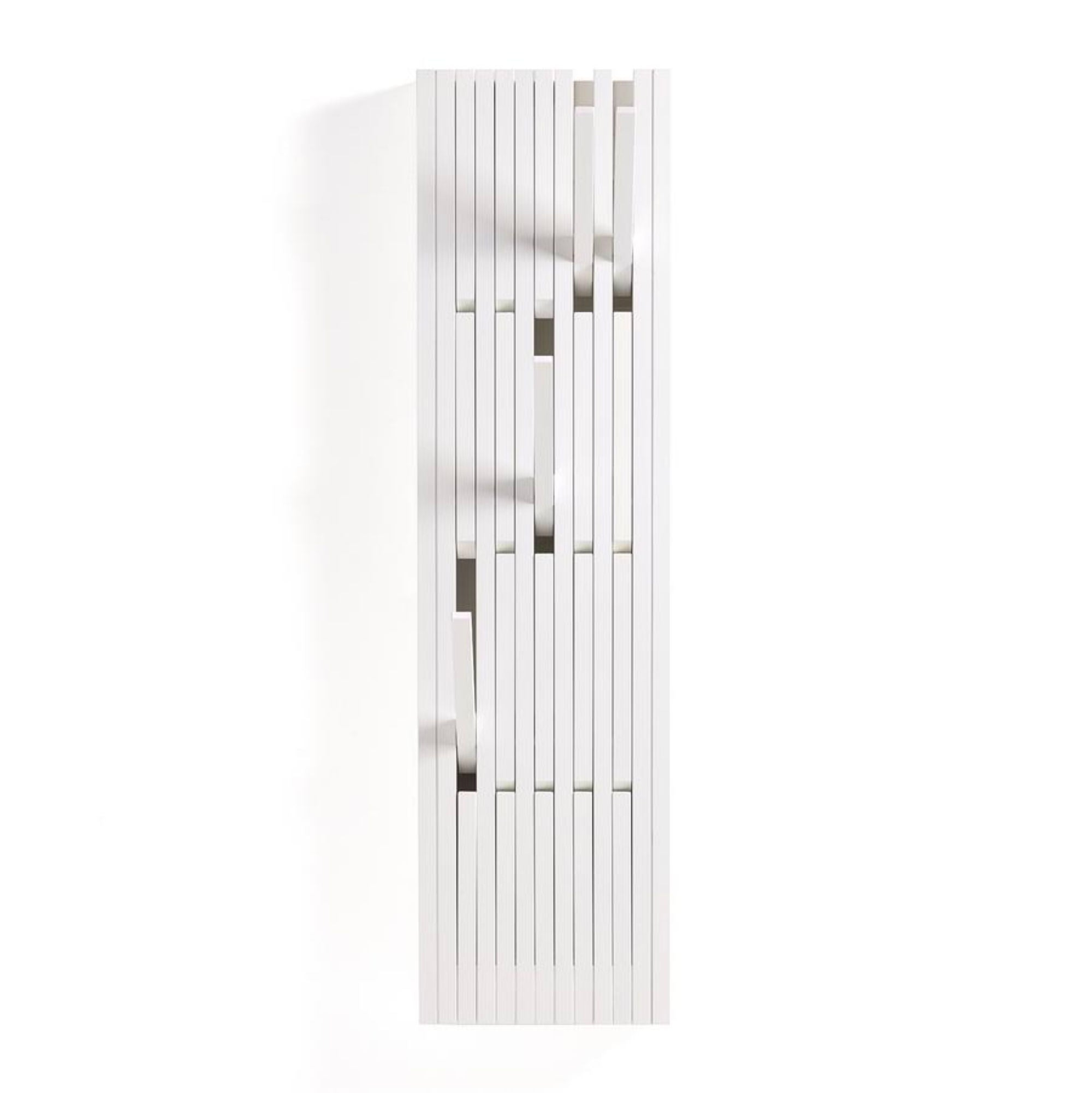 Peruse Piano hanger panel, Small - Beech lacquered white