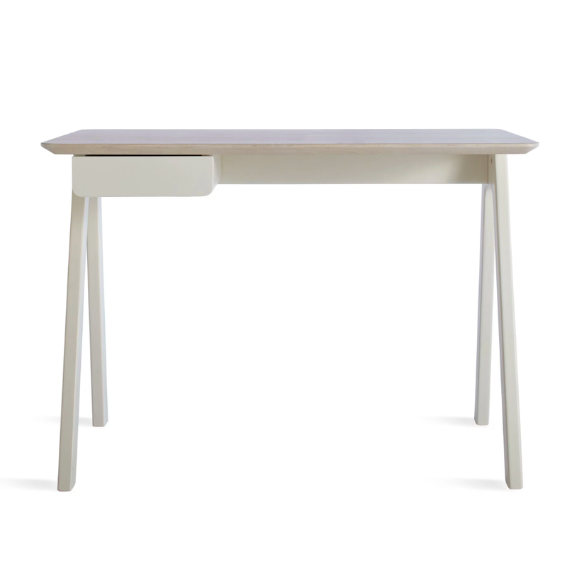 Blu Dot Stash desk, white ash