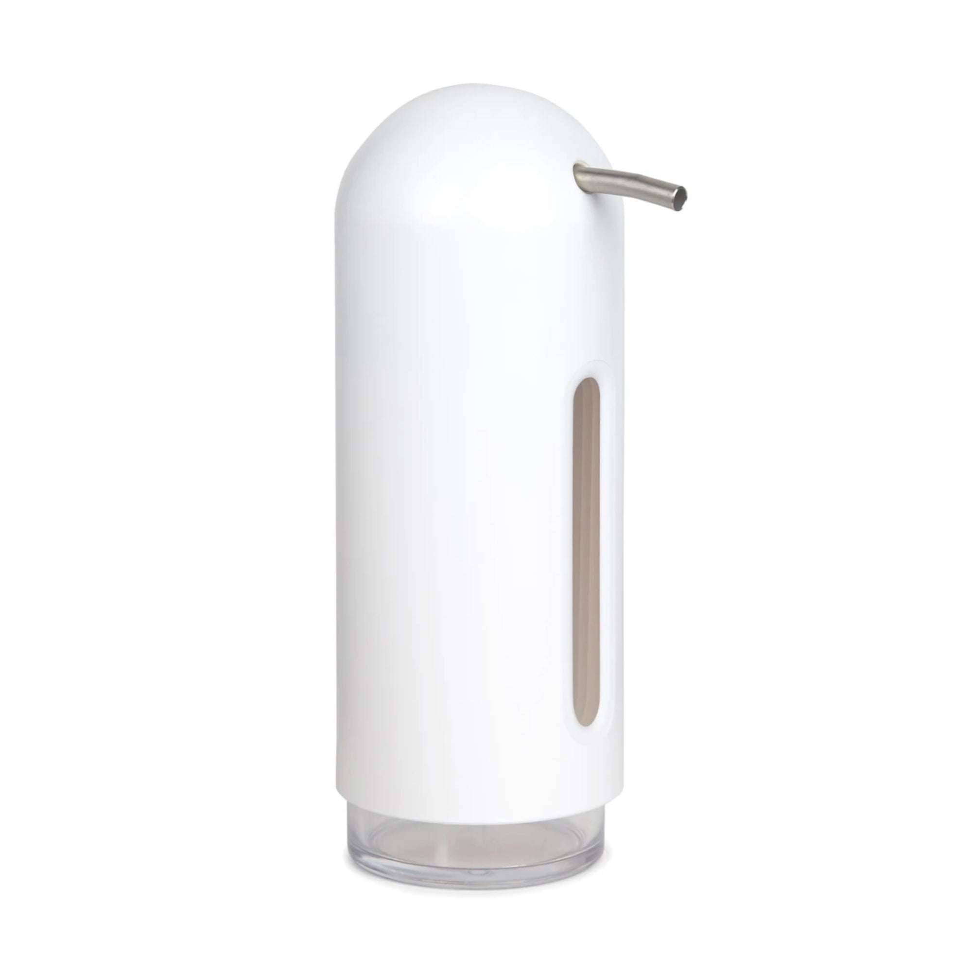 Umbra Penguin soap pump, white