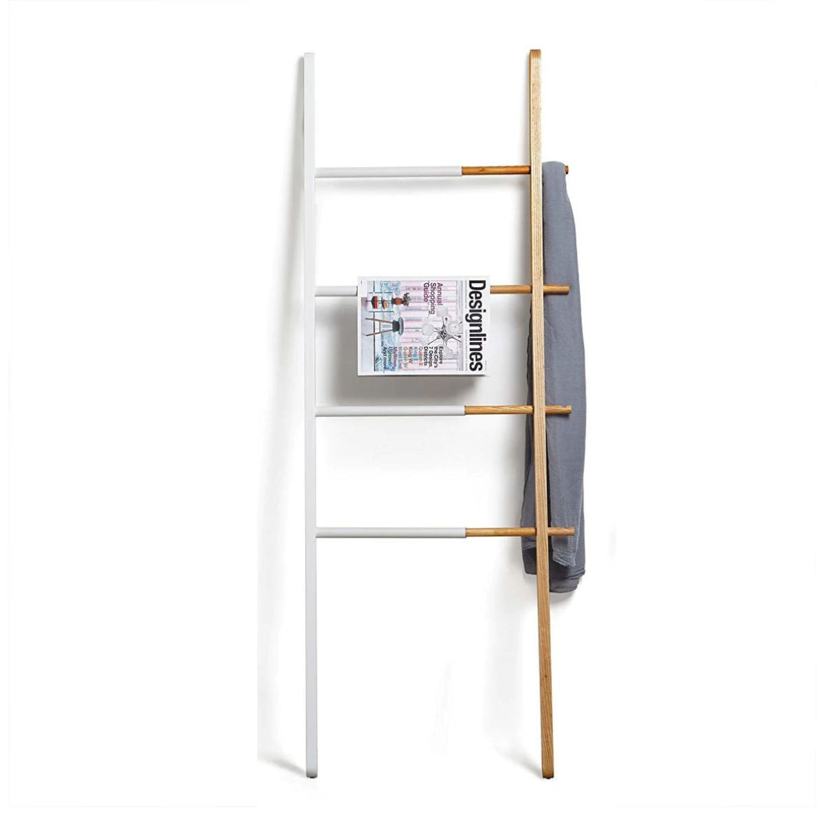 Umbra Hub Ladder , White/Natural