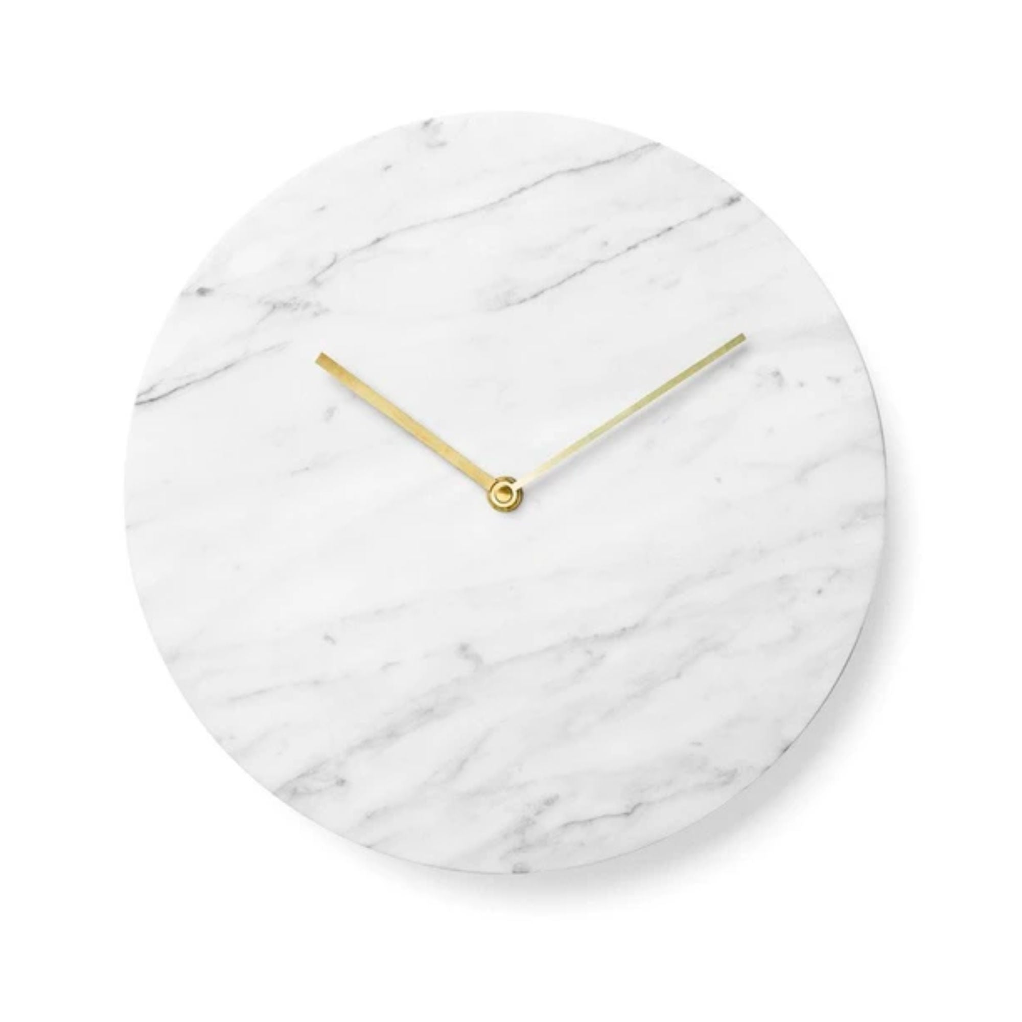 Menu Marble Wall Clock ,  White