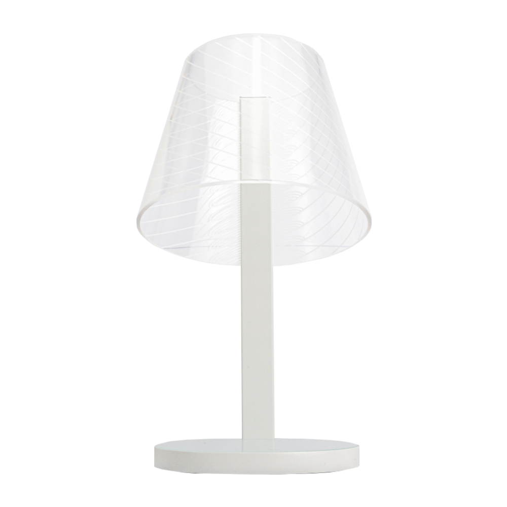 Above Lights Kong Qi wireless charging lamp, white twill