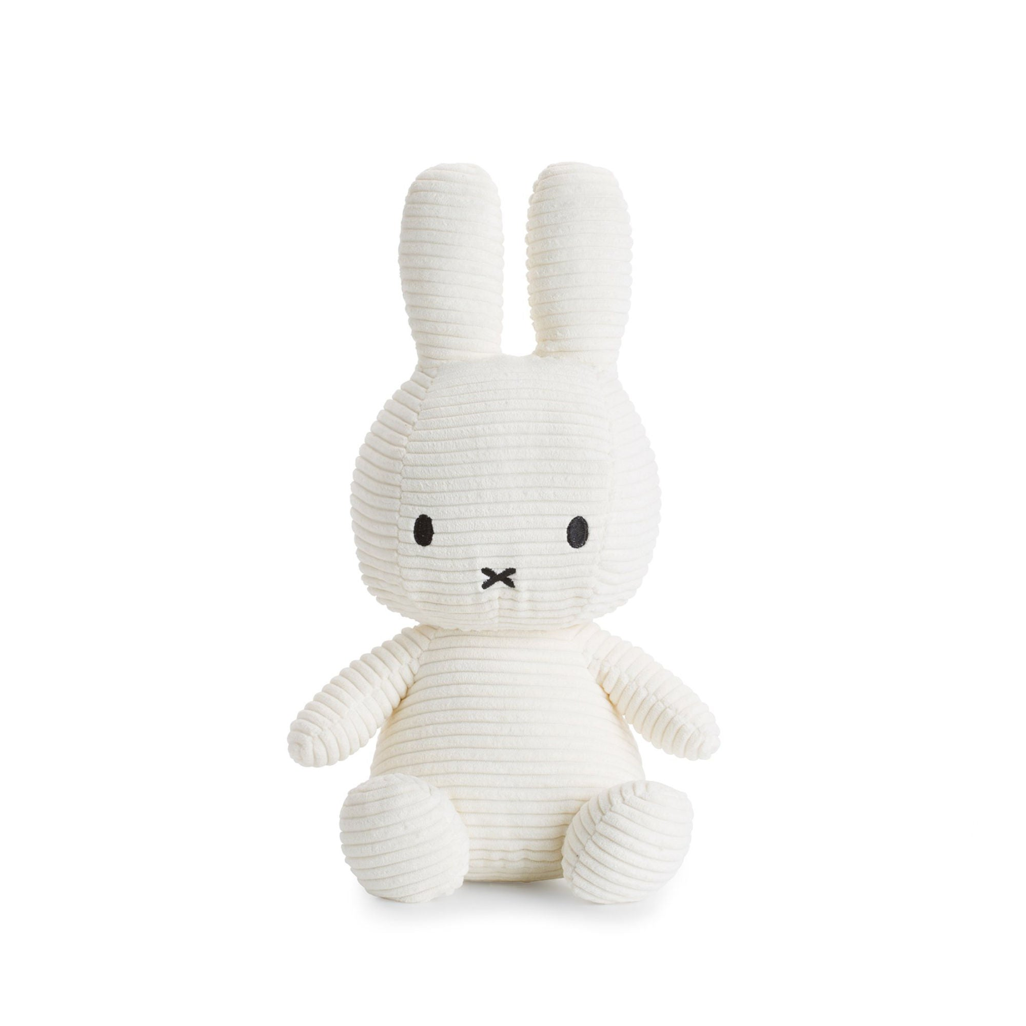 Miffy Corduroy Plush 23cm , off white