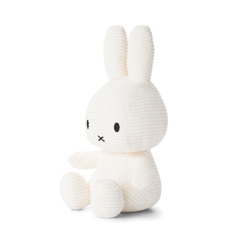 Miffy Sitting Corduroy 23cm, off white