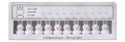 Bambolino Miffy 3D Stringlight , White