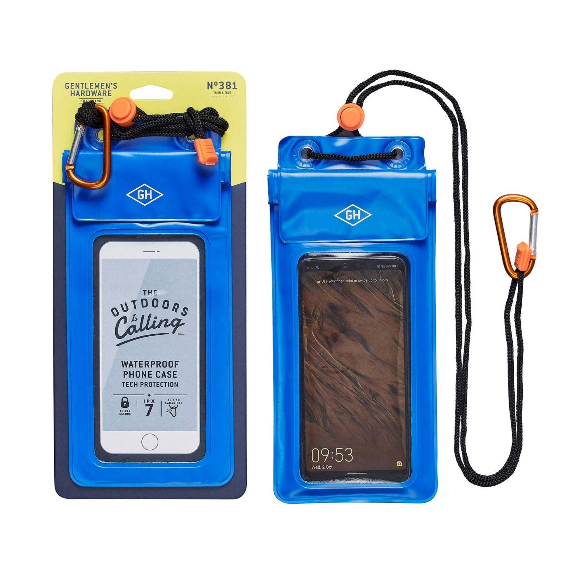 Gentlemen's Hardware Waterproof Phone Case