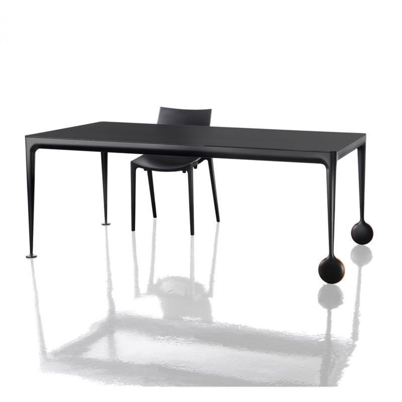 Magis Big Will Extendable Table L200/300xW100 , Black-Black