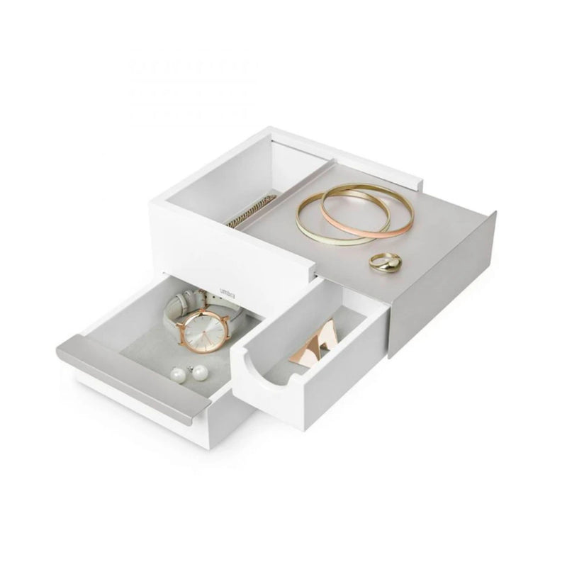 Stowit jewelry box white, mini