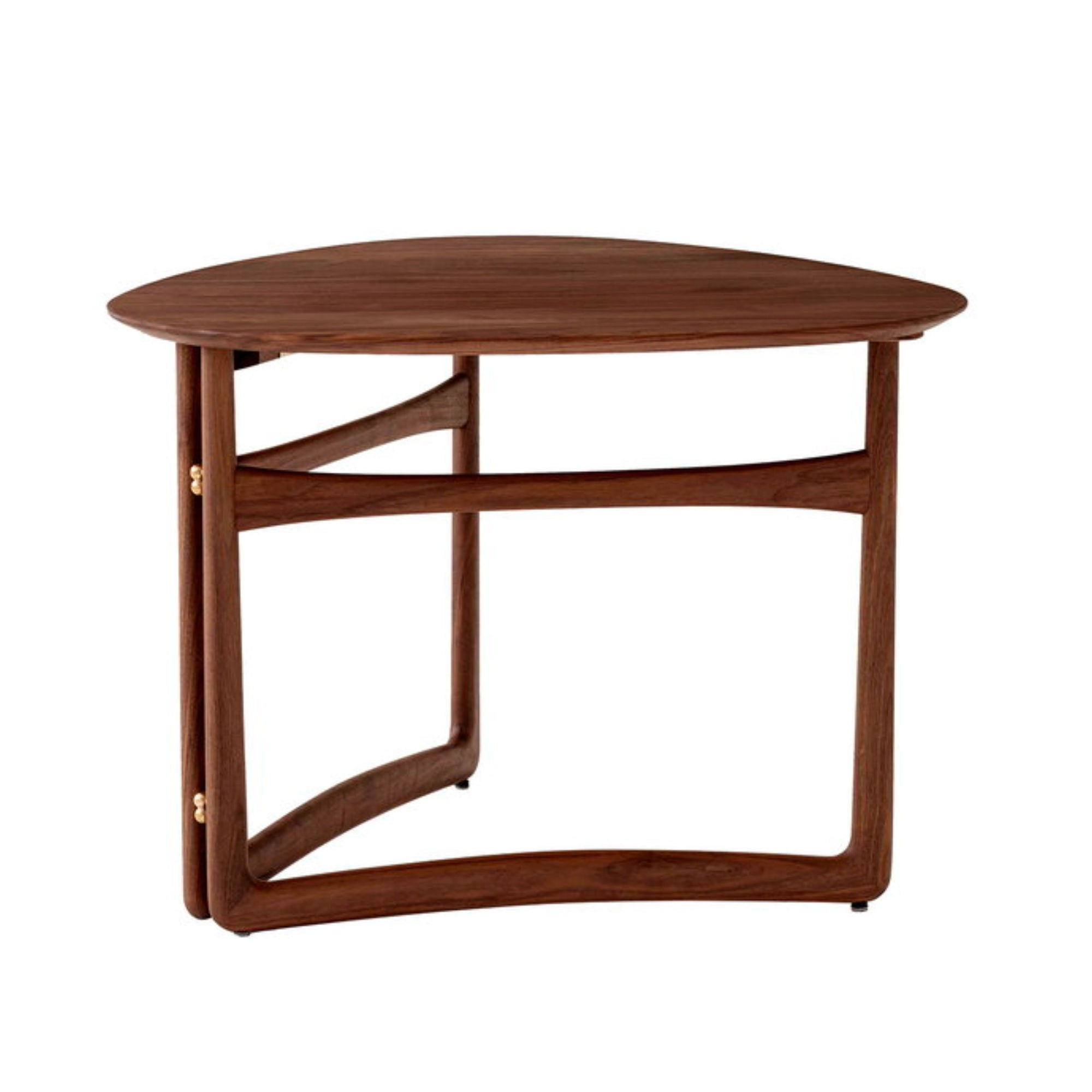 &Tradition Drop Leaf HM5 side table, oiled walnut