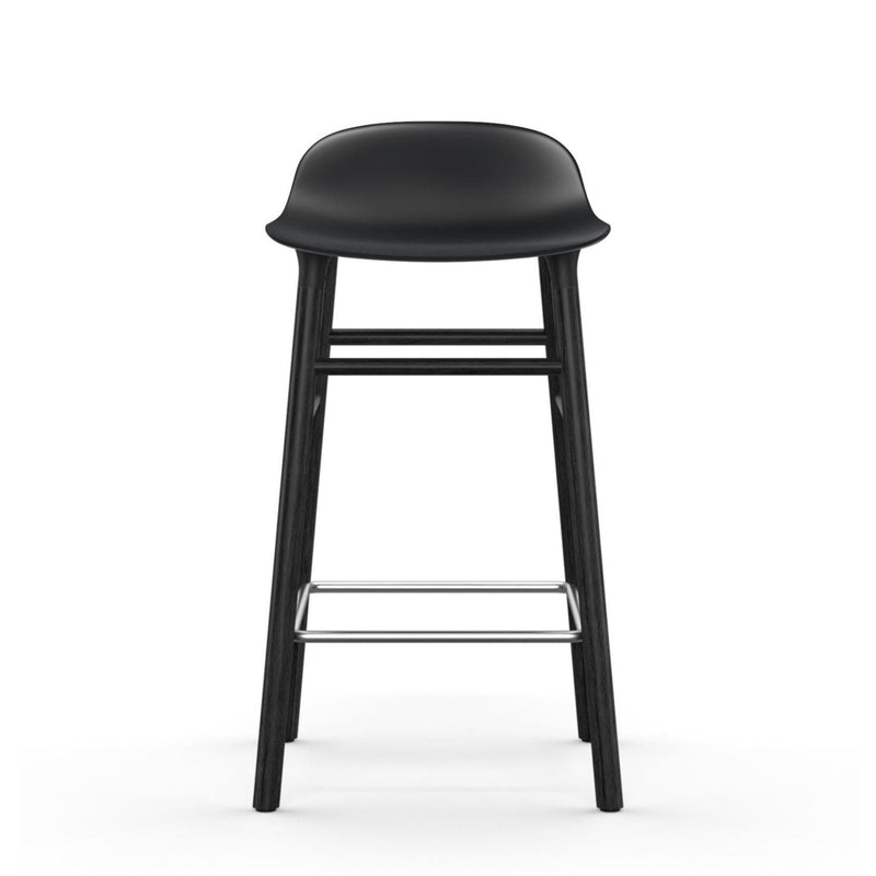 Normann Copenhagen Form Stool 65, black wood - black