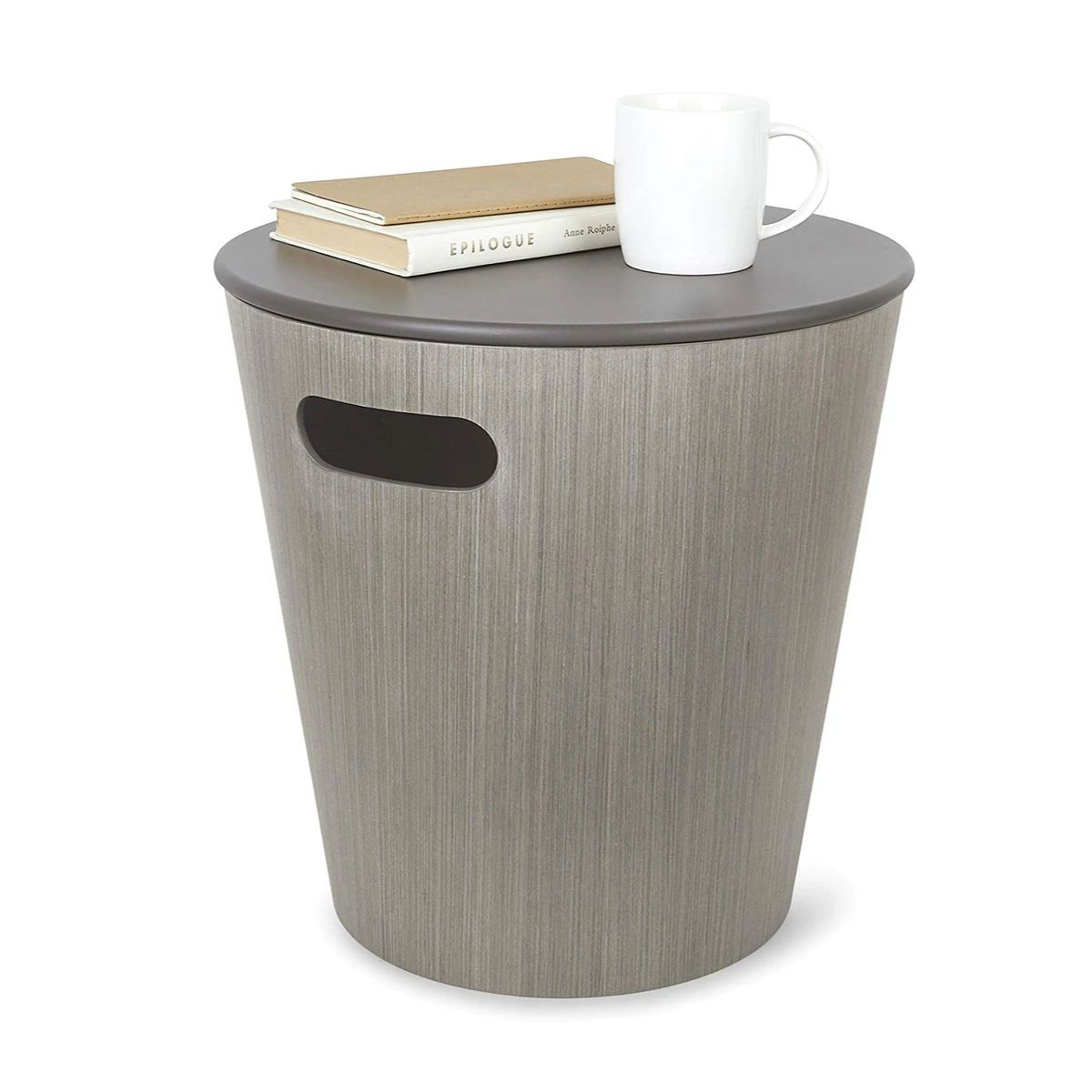 Umbra Woodrow Storage Stool , Gery