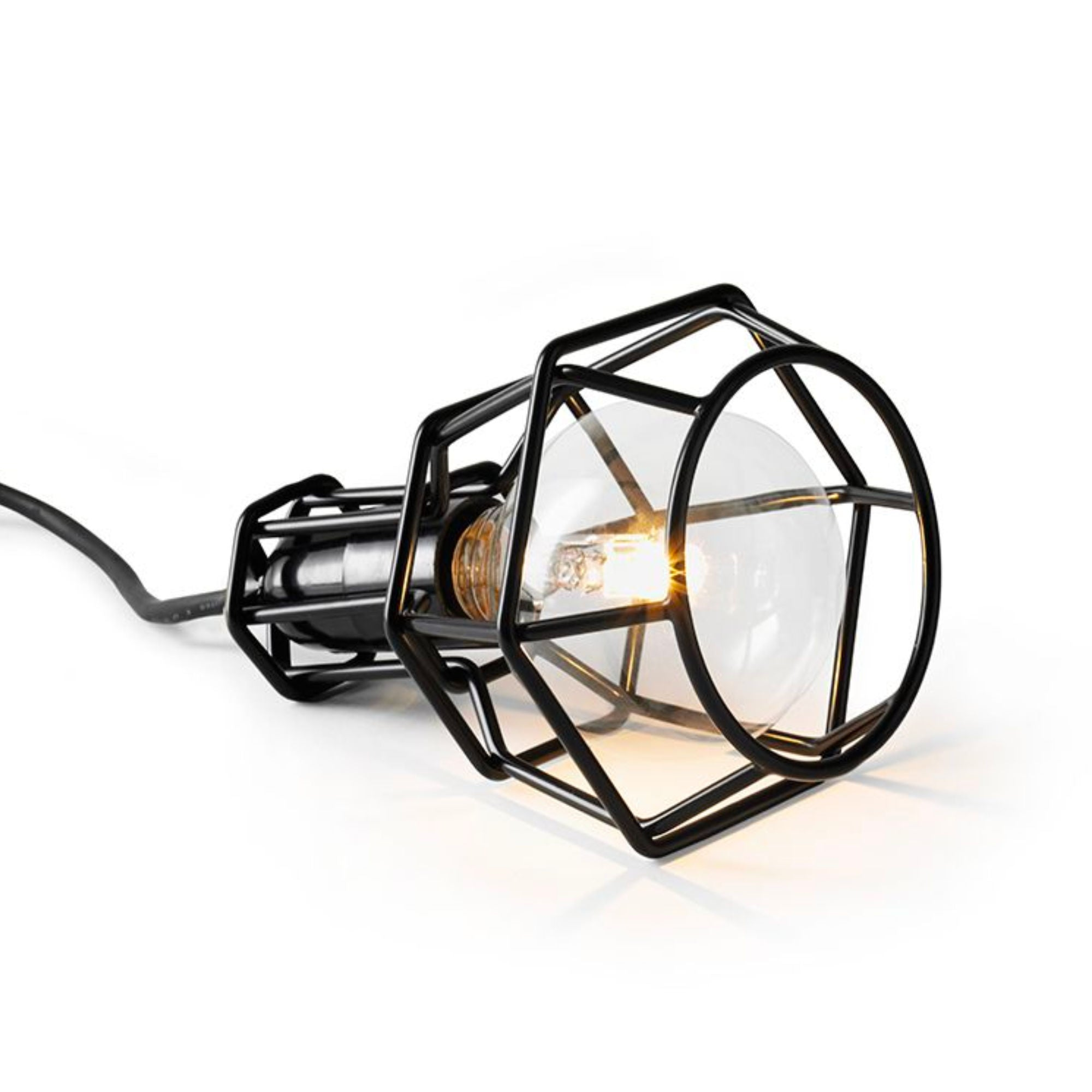 Design House Stockholm Work Lamp , Black