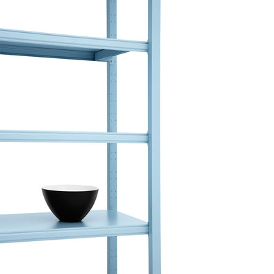 Normann Copenhagen Work Bookcase High 4 Pillar