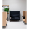Muuto Outline Highback Work, black base, left