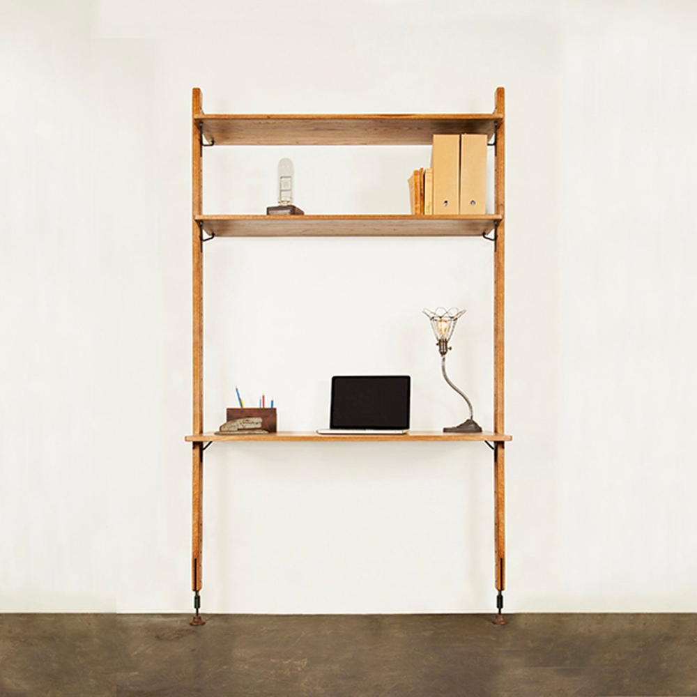 District 8 Theo Wall Unit with Work Desk