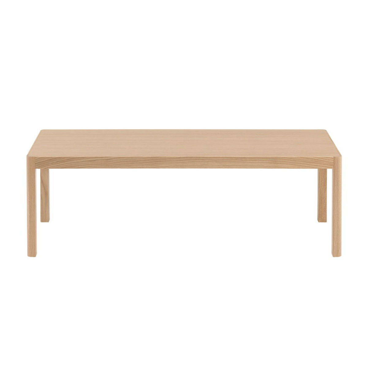 Muuto Workshop coffee table, rectangular, oak
