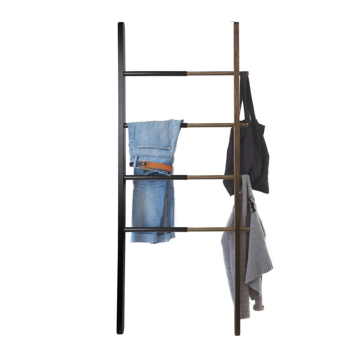 Umbra Hub Ladder , Black/Walnut