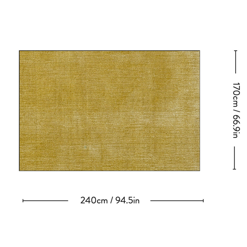 AP5 The Moor rug 170*240, yellow field