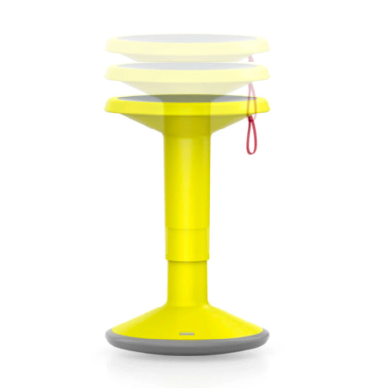 Upis1 Ergonomic Stool , Passion Yellow