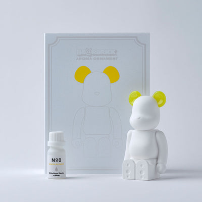 Bibliotheque Blanche x Medicom BE@RBRICK Aroma Ornament #0 yellow