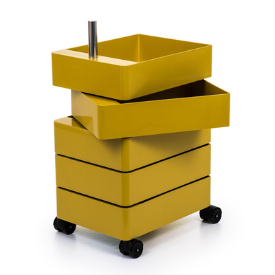 Magis 360° Container by Konstantin Grcic 5 Drawers Yellow