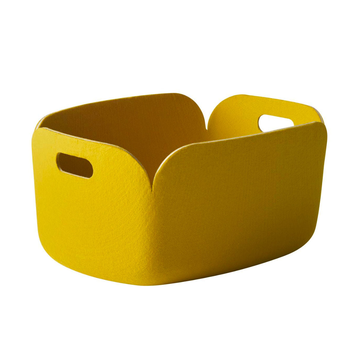 Muuto Restore Basket, yellow