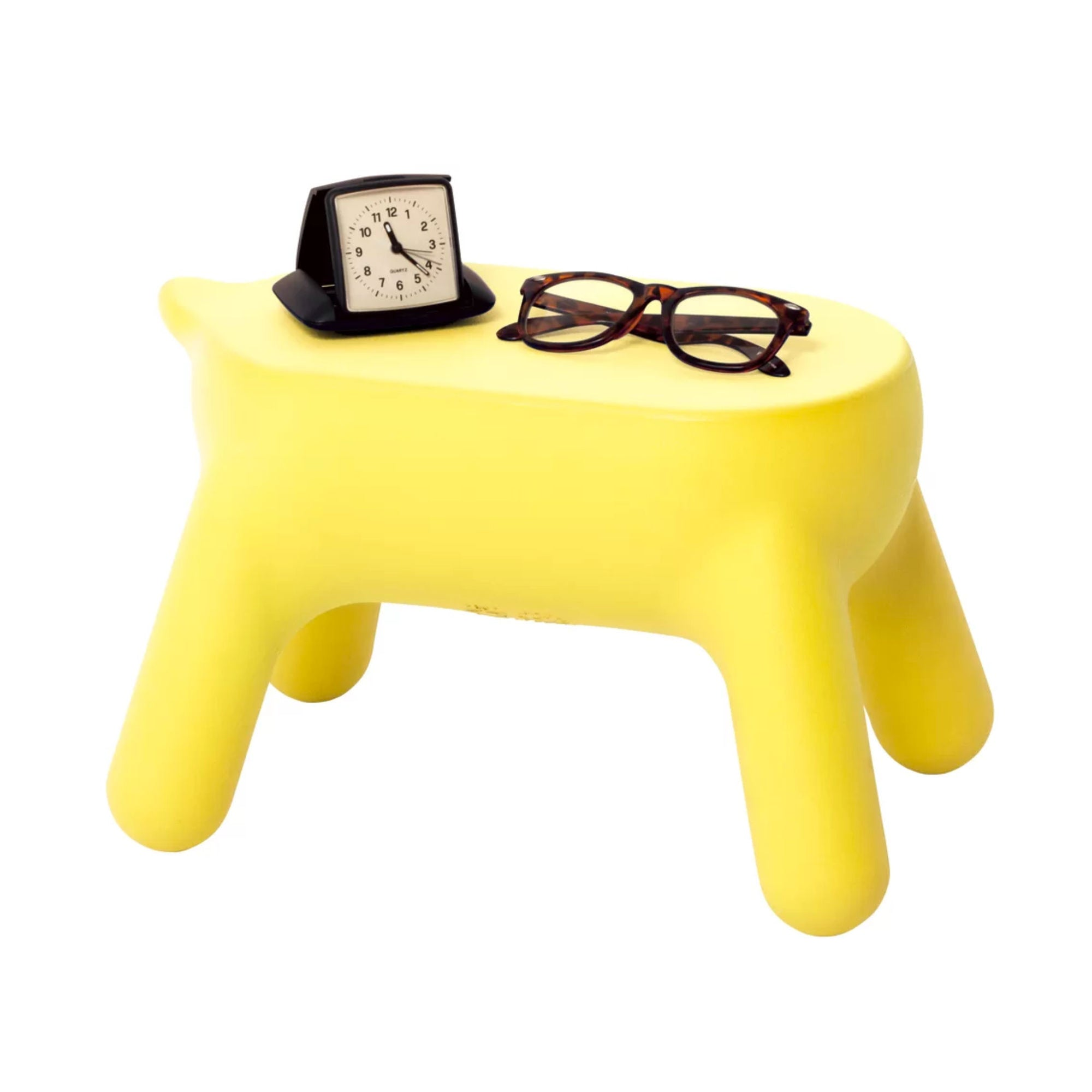 Hasegawa Purill step stool, lemon yellow