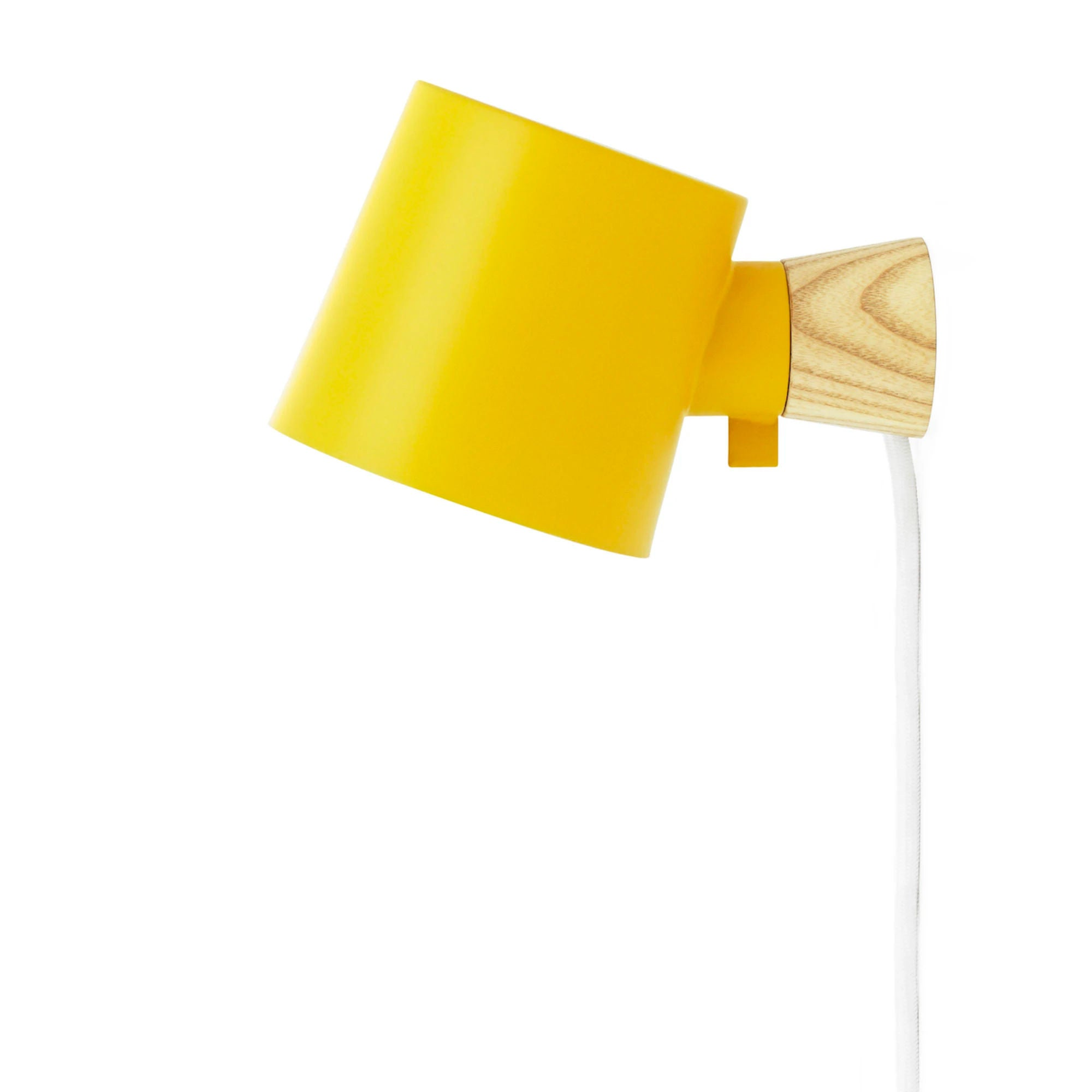 Normann Copenhagen Rise Wall Lamp , Yellow