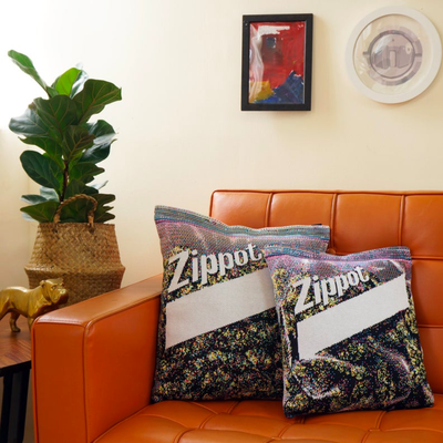 Chic Sin Design Marijuana pillow