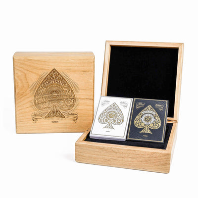 Theory11 Luxury Edition Laser Etched Wood Box Set